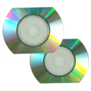 CD Card oval Ritek Prata/Prata 5min/50MB(12x) + envelope