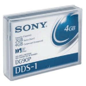 Fita DAT Sony (DDS1) 4mm (2/4 GB) 90m