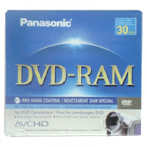 Mini DVD-RAM Panasonic Lacrado 1.4GB/30min(1x) sem Holder