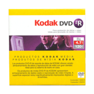 DVD-R Kodak Lacrado 4.7GB(8x) no envelope