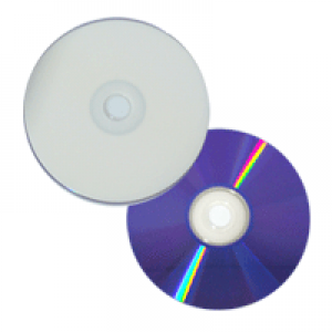 DVD+R Powerdisc InkJet HUB Printable Branco 8.5GB(8x) (Dual Layer) (Pino)