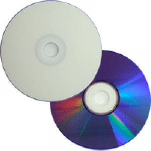 DVD+R New Star InkJet HUB Printable Branco 8.5GB(8x) (Dual Layer) (Pino)