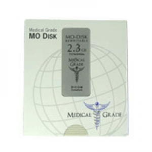 Disco Óptico Medical Grade MO 2.3 GB (Regravável)