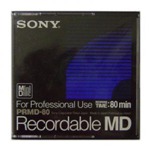 Mini Disc Sony Professional 80mim