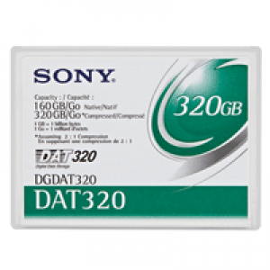 Fita DAT 320 Sony (DDS) 4mm (160/320 GB) 170m