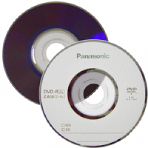Mini DVD-R Panasonic Lacrado 2.6GB/60min(4x) - Dual Layer