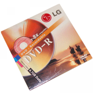 DVD-R LG Lacrado 4.7GB(8x) no envelope