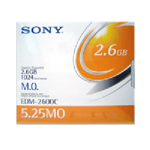 Disco Óptico Sony MO 2.6 GB (Regravável)