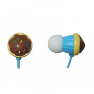 Fone de Ouvido Maxell - Earbuds Cup Cake Vanilha