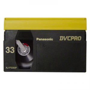Fita DVCPRO Panasonic 33 min MP