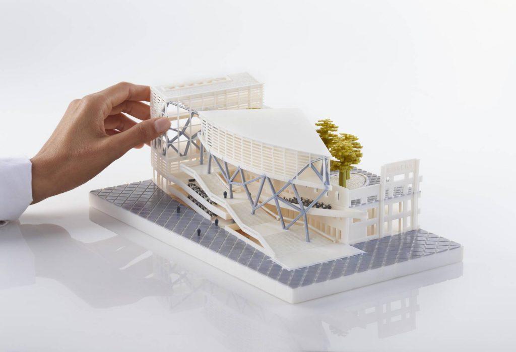 impressão 3D na arquitetura